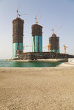Buildings Under Construction, Manama, Bahrain Stock Photography