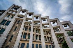Buildings at the University of Santo Tomas, in Sampaloc, Manila, Royalty Free Stock Photos
