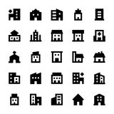 Buildings Vector Icons 2 Stock Photos