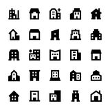 Buildings Vector Icons 3 Royalty Free Stock Photography