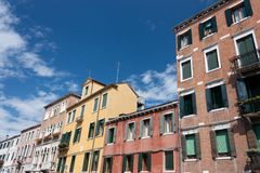 Buildings in Venice Stock Photography
