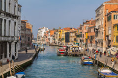Buildings in Venice Royalty Free Stock Photos