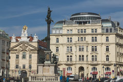 Buildings in Vienna Royalty Free Stock Photo