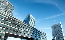 Buildings in vienna city Stock Photography