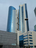 Buildings view in Astana Stock Photo