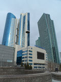 Buildings view in Astana Stock Images