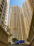 Buildings The Walk in Dubai Marina Stock Photos