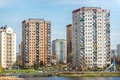 Buildings in Warsaw Stock Photo