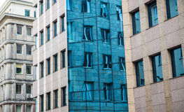 Buildings in Warsaw Royalty Free Stock Images