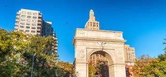 Buildings of Washington Square, Manhattan.  Stock Image