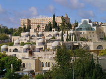 Buildings in west Jerusalem Royalty Free Stock Photography