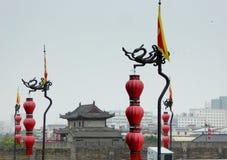 Buildings on The Xi'an Circumvallation Stock Photos