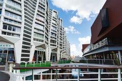 Buildings of Zaandam, Netherlands Royalty Free Stock Photo