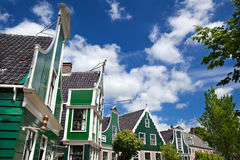 Buildings in Zaanse Schans Stock Photos