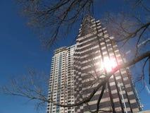 buildingsunreflection Stock Images