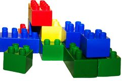 Buildng Blocks Royalty Free Stock Images