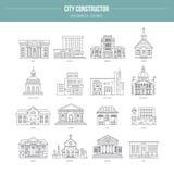 Buildungs governamental ilustração royalty free