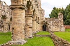 Buildwas修道院,萨罗普郡,英国 库存图片