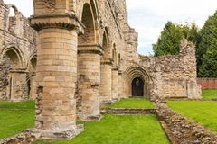 Buildwas Abbey, Shropshire, England. The ruins of the famous Buildwas Abbey in Shropshire Stock Images
