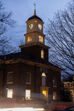Builiding with clock tower in Dover. Delaware Royalty Free Stock Photography
