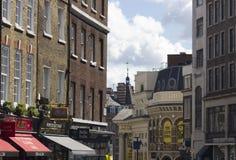 Builings在伦敦市中心 免版税图库摄影
