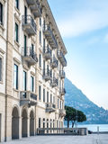Builings in Lugano, Switzerland Royalty Free Stock Photo