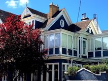 Victorian Inn Bed and Breakfast, San Francisco, 3. Built in 1897 as a single family home, it has gone through many changes. This city historic landmark had at Stock Photography