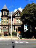 The historic Spencer Inn bed and breakfast, 3. Built in 1887 as a single family 20 room house for John Spencer, this San Francisco historic landmark has lived Royalty Free Stock Images