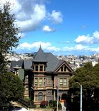 The historic Spencer Inn bed and breakfast, 5. Built in 1887 as a single family 20 room house for John Spencer, this San Francisco historic landmark has lived Royalty Free Stock Photo