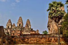 Pre Rup temple in Angor, Siem Reap, Cambodia royalty free stock images