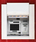 Built-in ATM machine. Stock Images