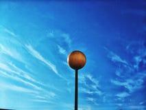 built ceiling lamp light shined textural under wall Στοκ φωτογραφία με δικαίωμα ελεύθερης χρήσης