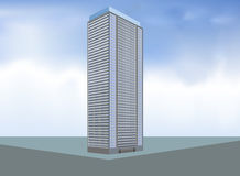 Built condo layout. Illustration built condo layout,residential building background Stock Photo
