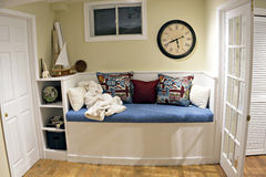Built-in Day Bed Stock Image