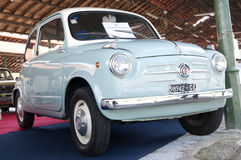 A 1957 built Fiat 600 S2 Controvento Stock Photography