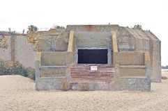 Cape May: Battery 223 Second Entrance Royalty Free Stock Photography