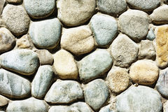 Built of natural stone textured wall Royalty Free Stock Image
