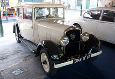 A 1932 built Peugeot 301 Stock Images