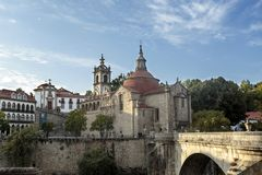Amarante - Church of Sao Goncalo Royalty Free Stock Photography