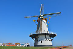 Built in 1699 traditional windmill Royalty Free Stock Photography