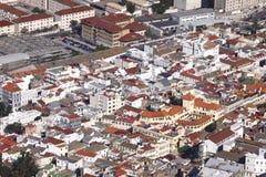 Built up area of Gibraltar Stock Photos