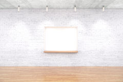 Built-in-wall seating Royalty Free Stock Image