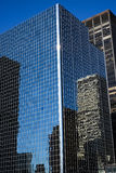 Buinding in New York. A reflective building in Midtown Manhattan, New York City Royalty Free Stock Image