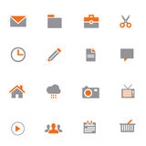 Buiness vector icon set. Business Symbol icon for web design Stock Photos