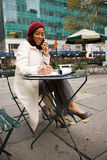 Buiness Woman In The City Stock Photos
