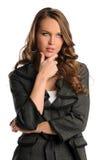 Buinesswoman Thinking Stock Image