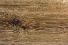 Buio crudo del nodo di struttura di legno del pavimento di legno duro Fotografie Stock