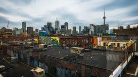 Buio di Toronto dal mercato di Kensington Fotografie Stock Libere da Diritti
