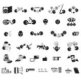 Buisness icons  set in vector Stock Photo
