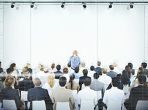 Buisness People Meeting Seminar Conference Audience Team Concept. Business People Meeting Seminar Conference Audience Team Concept Stock Image
